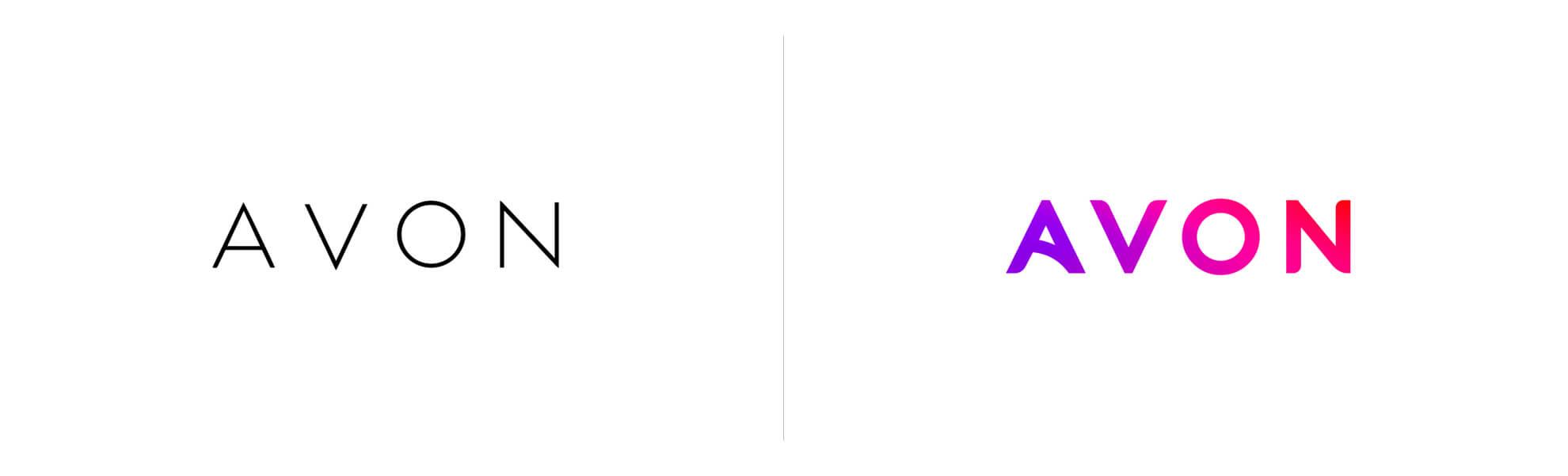 Nowe logo Avon