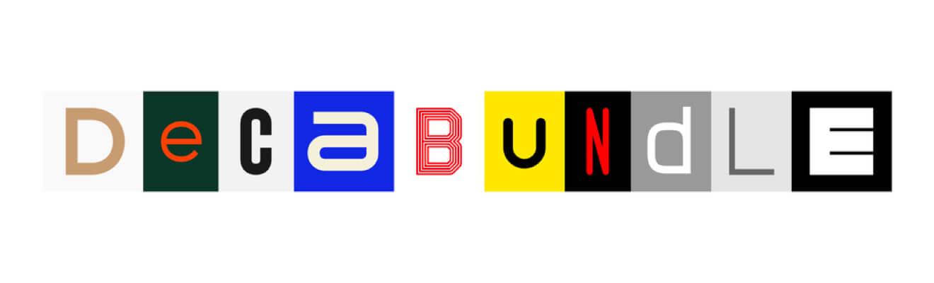 Deca Bundle – 10 Fonts Selection