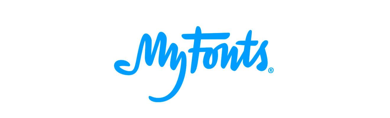 MyFonts zprzecenami nafonty zeznanych domów typograficznych