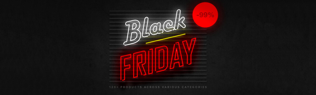 Black friday na pixelbuddha