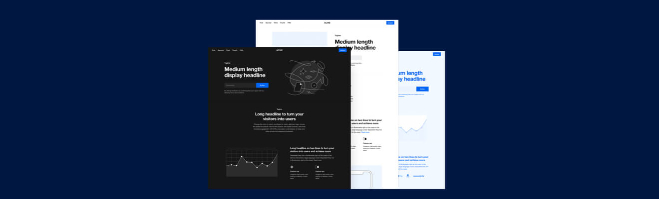 Platforma 2 Website Wireframe Kit for Sketch