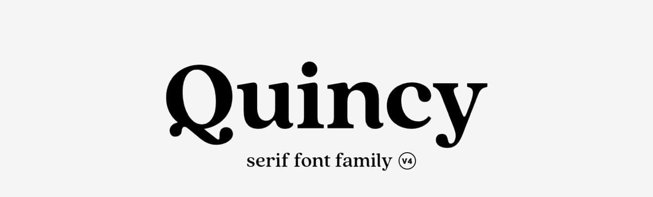 Quincy CF iinne fonty odConnary Fagen zapół ceny