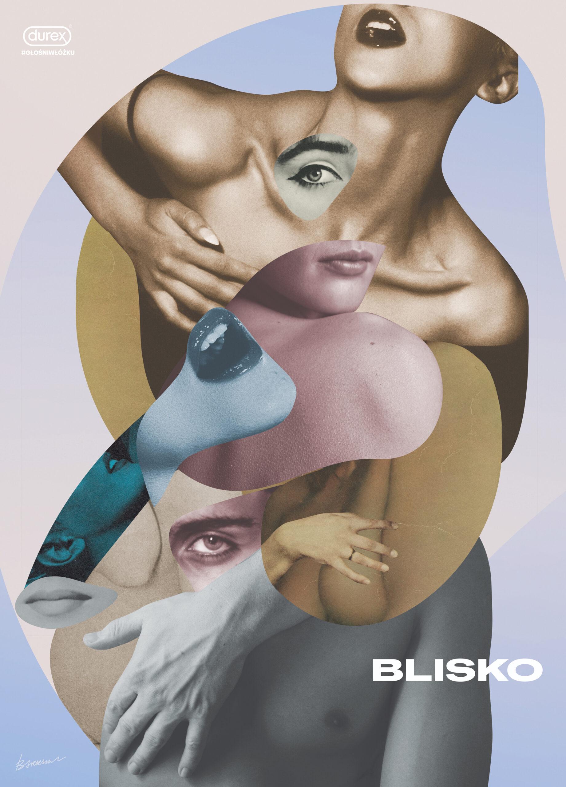 """– wyróżnienie: """"Głośni włóżku"""" (plakat), Beata Barrakuz Śliwińska"""