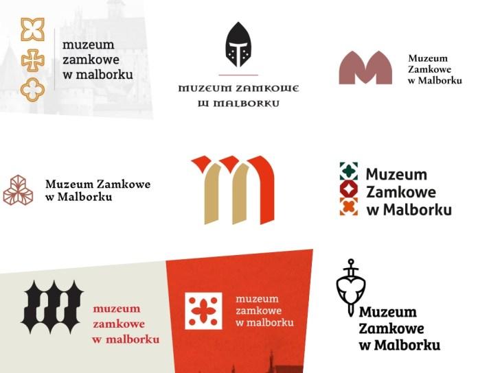 wybrane znaki Muzeum Zamkowe wMalborku
