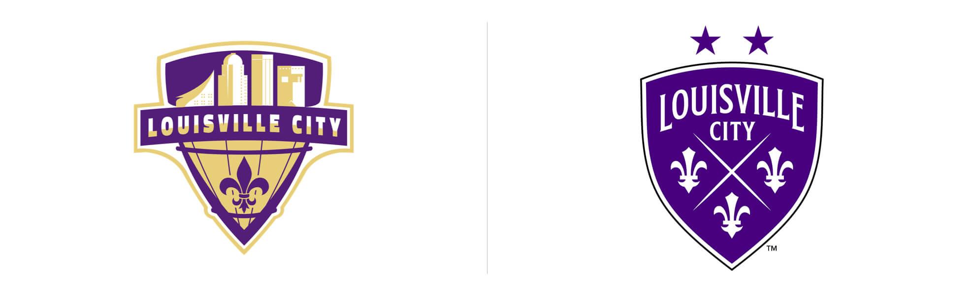 Louisville City czwarty raz zmienia logo
