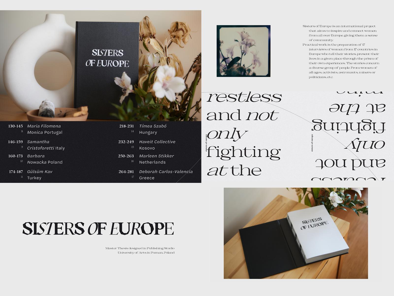 """– wyróżnienie: """"Sisters of Europe?"""", Karolina Grzelak"""
