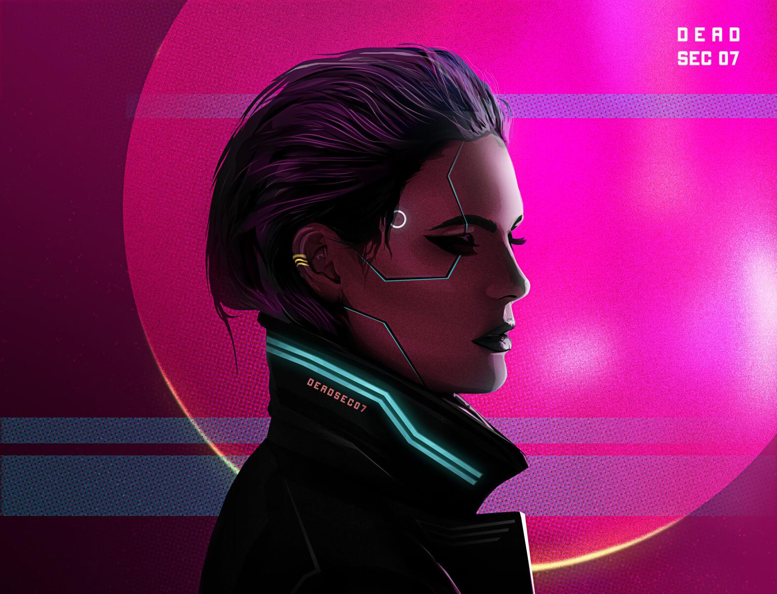 ASWIN K – Neon Rider | Cyberpunk