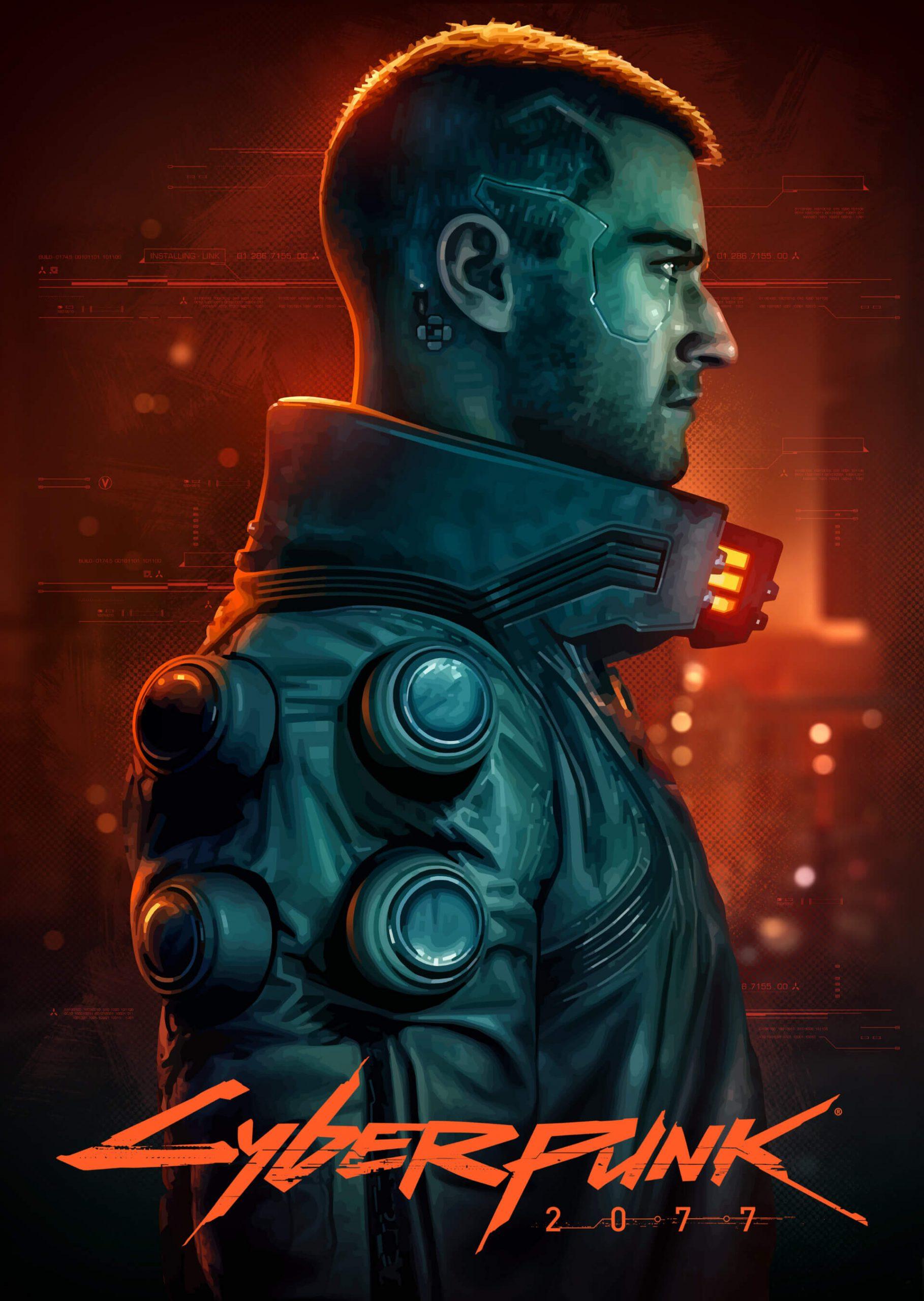 Brian Taylor – Cyberpunk 2077 Poster