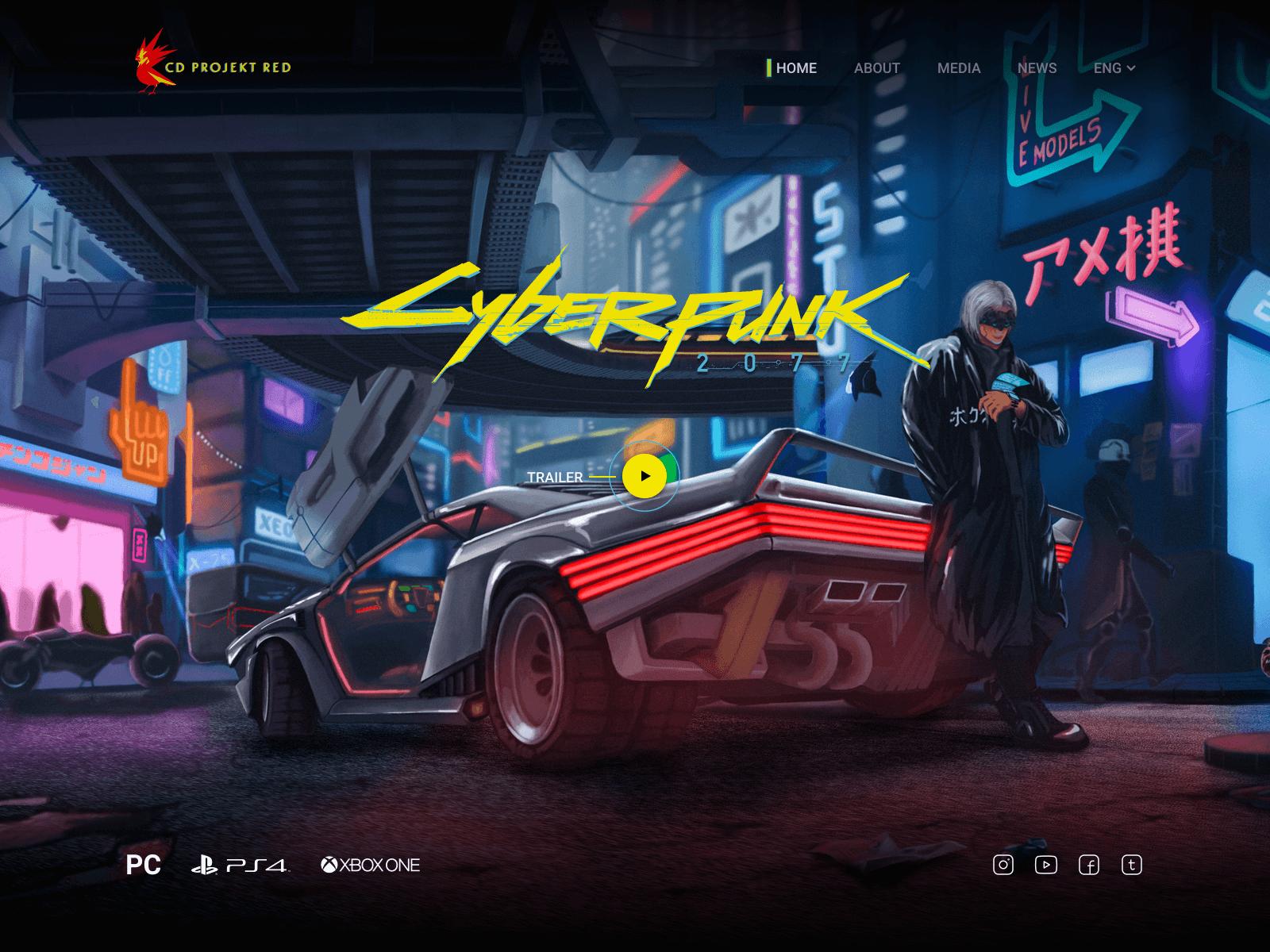 Воин света – CyberPunk 2077