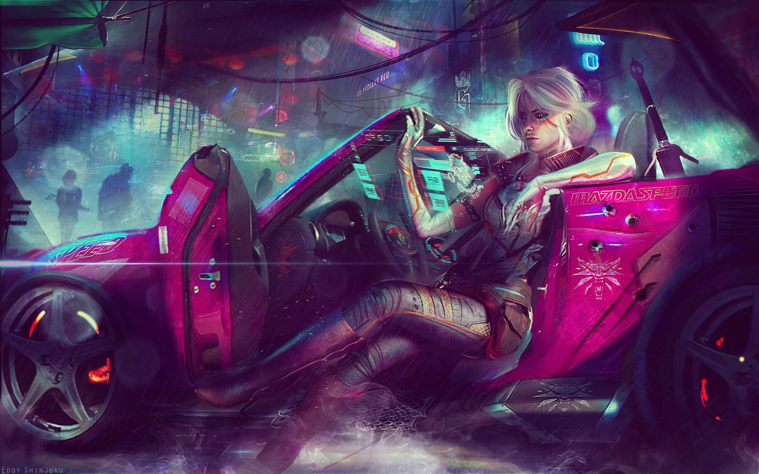 Eddy Shinjuku – CYBERPUNK 2077 Fanart