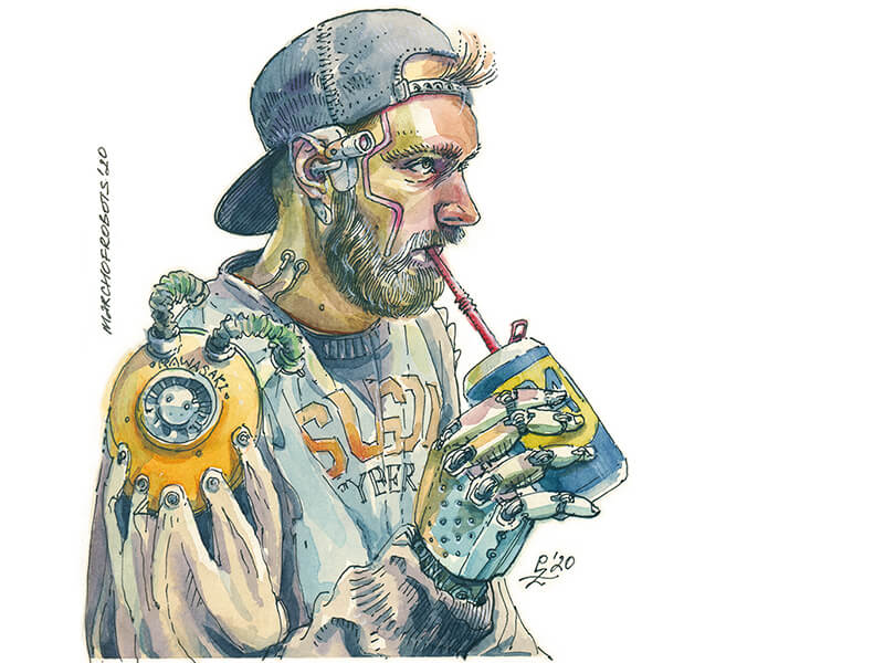 Pako – Just aguy sipping his WD40