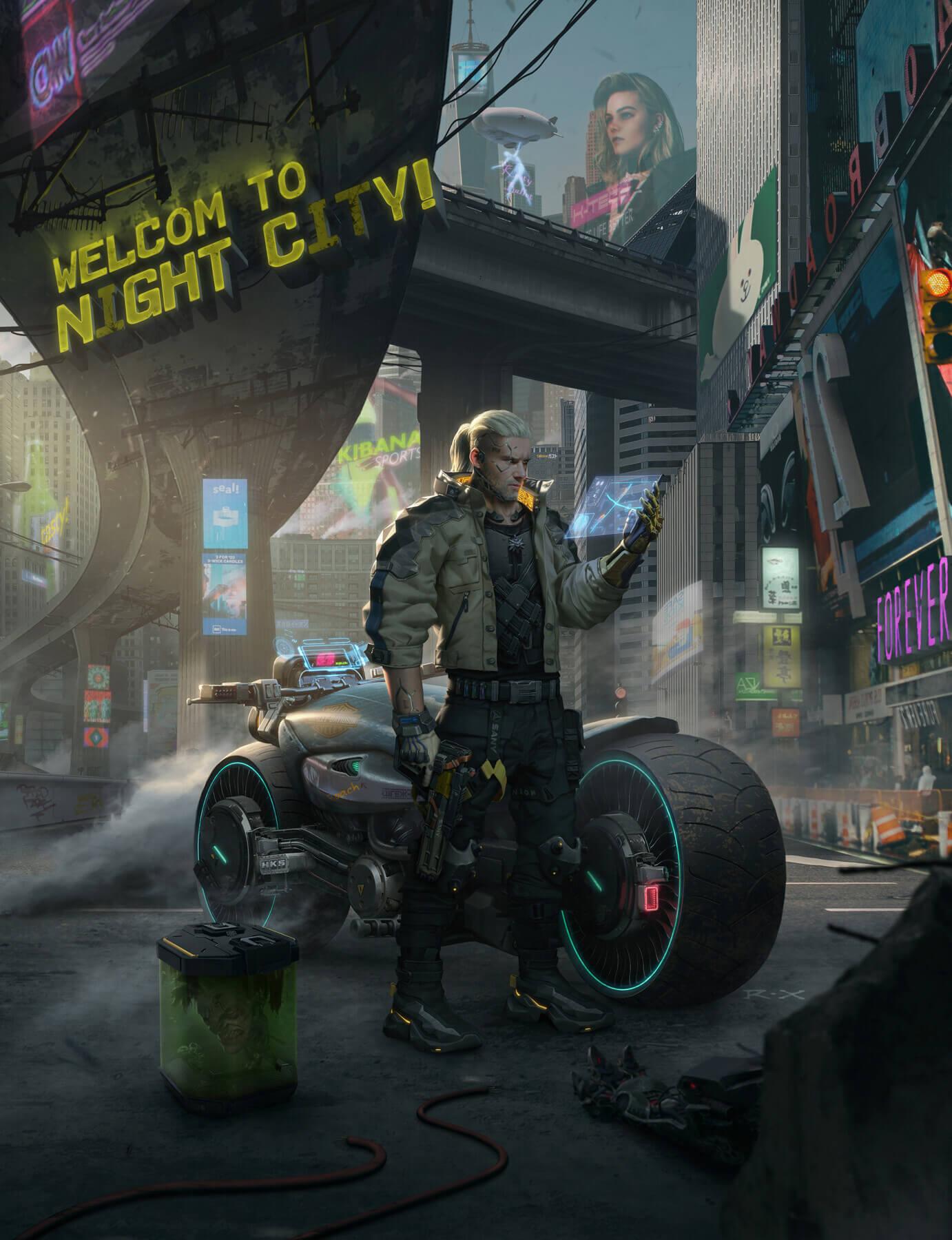 RX – The Witcher x Cyberpunk 2077