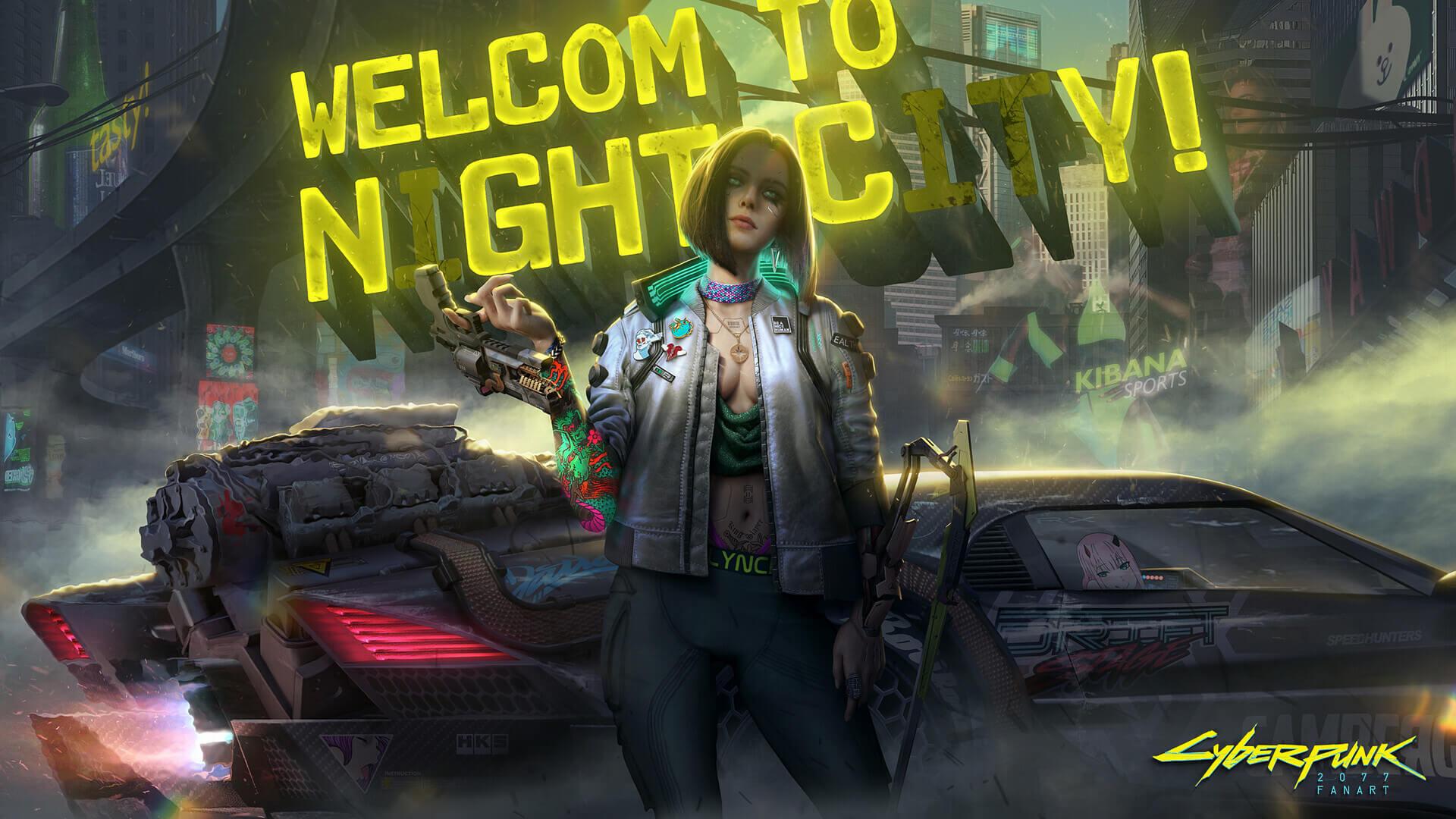 RX – Cyberpunk 2077 Fanart