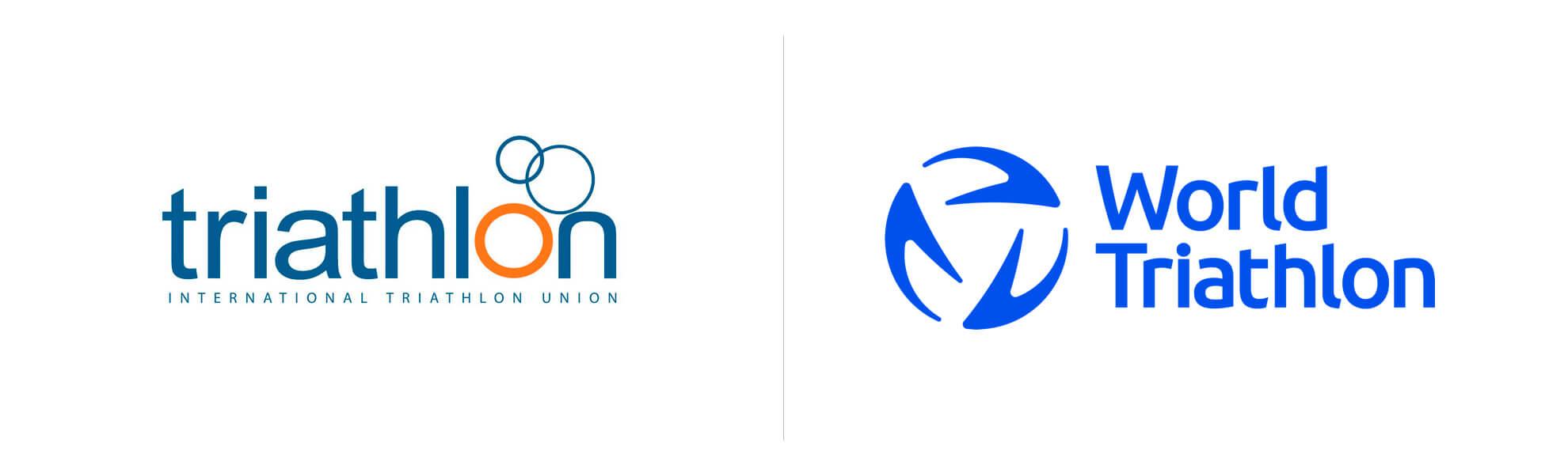 światowy związek triathlonu znowym logo