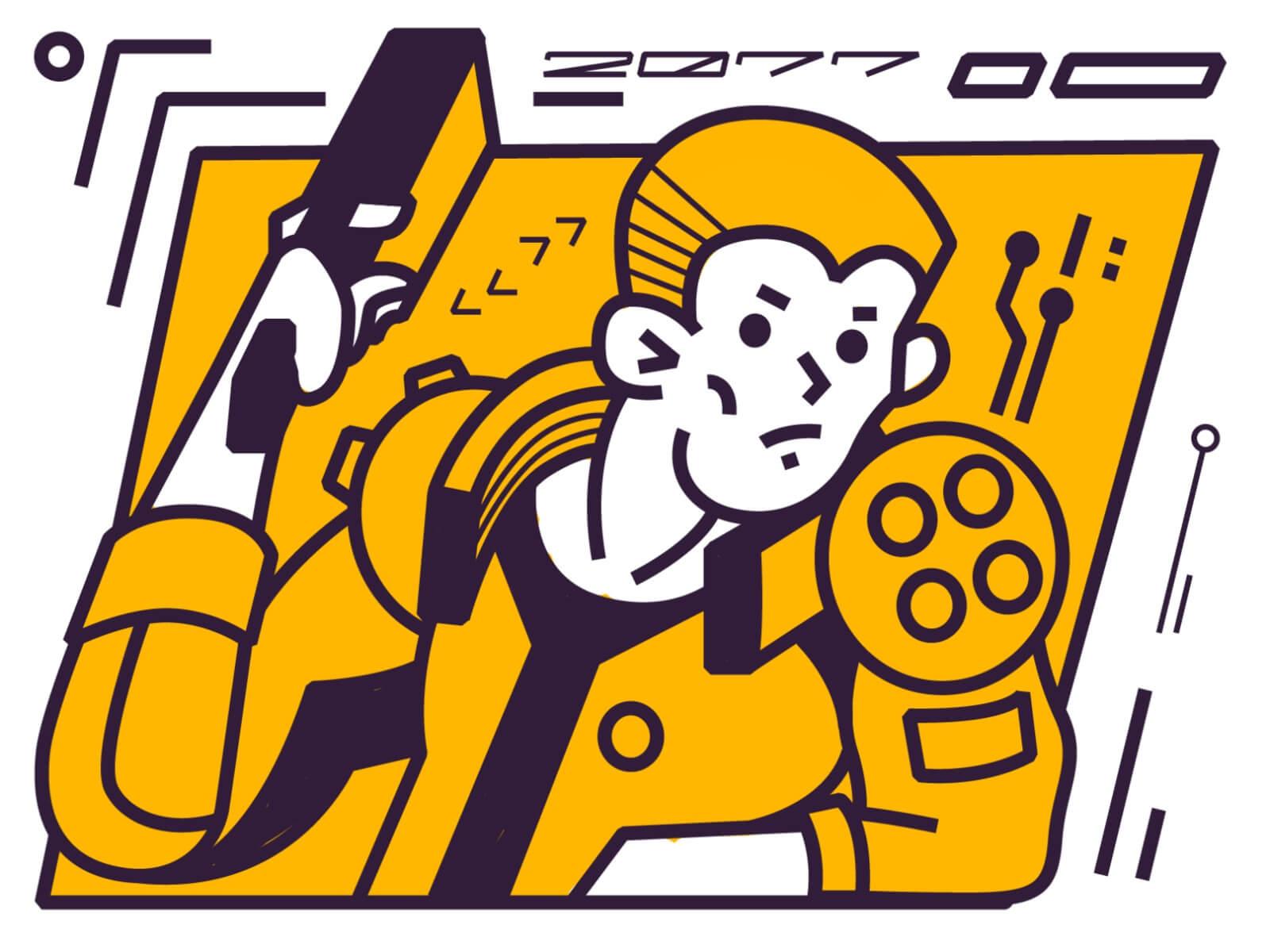 RULE89 ART – Сyberpunk 2077