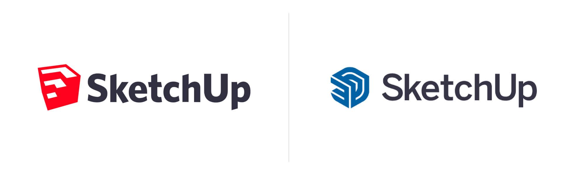 SketchUp znowym logo