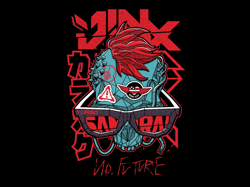 Jorge Tirado – J!NX x Cyberpunk 2077 Concept