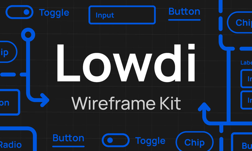 Lowdi - Wireframe Kit