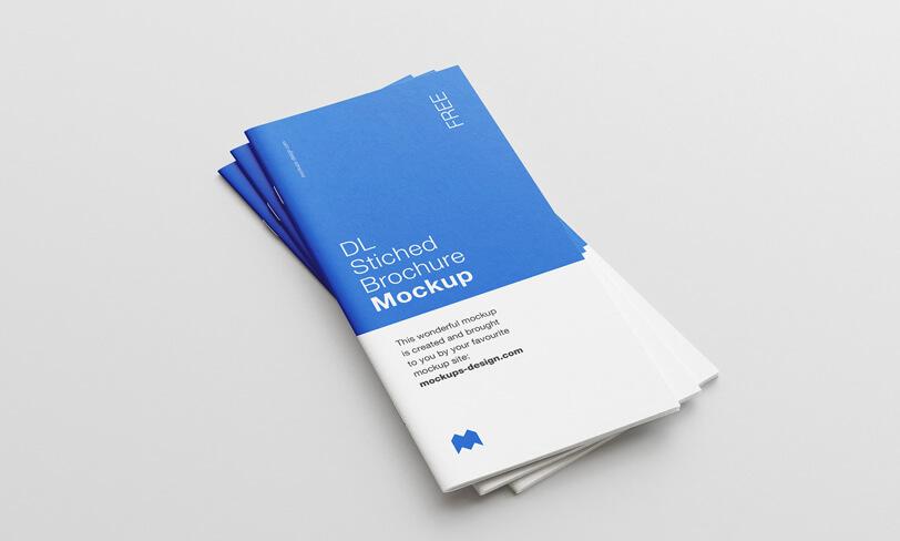 darmowy mockup broszury