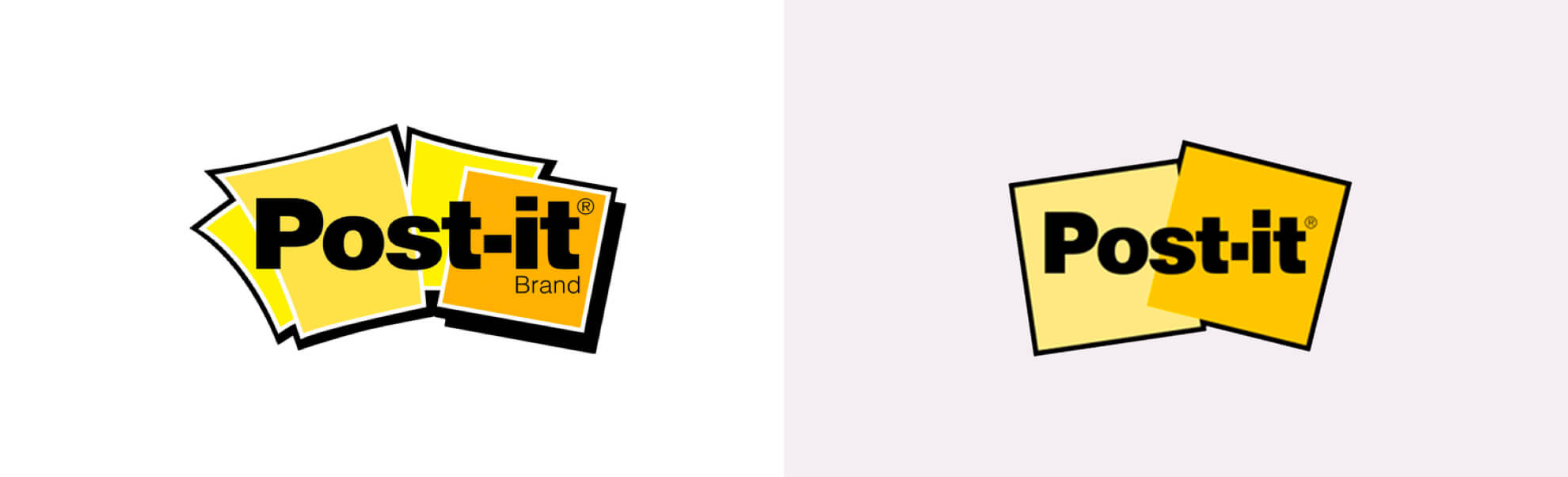 Post-it znowym logo iodświeżoną identyfikacją