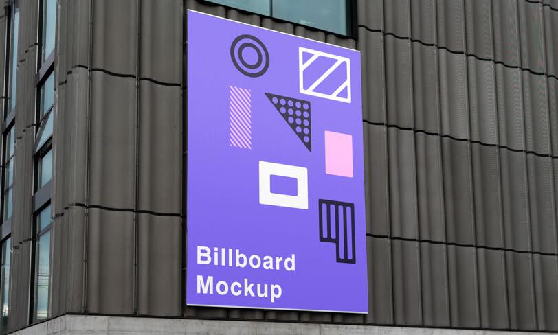 darmowy mockup billboardu