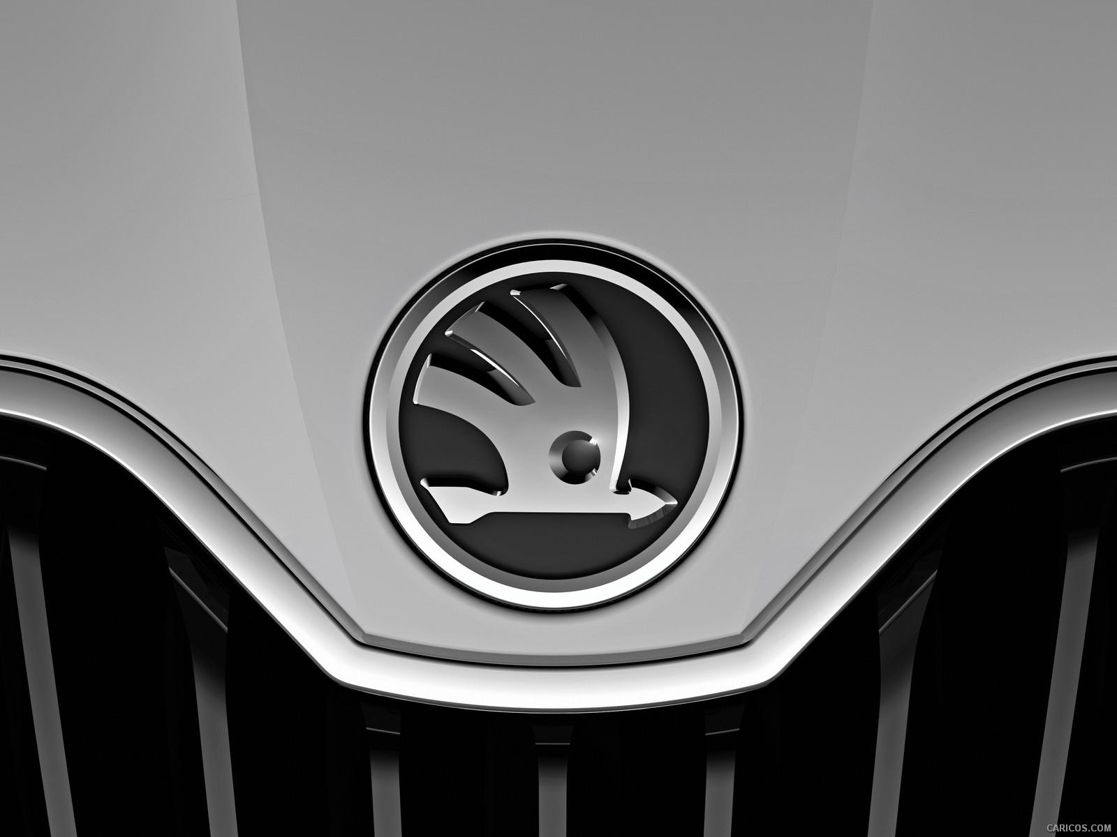 Nowe logo skody napojeździe koncepcyjnym