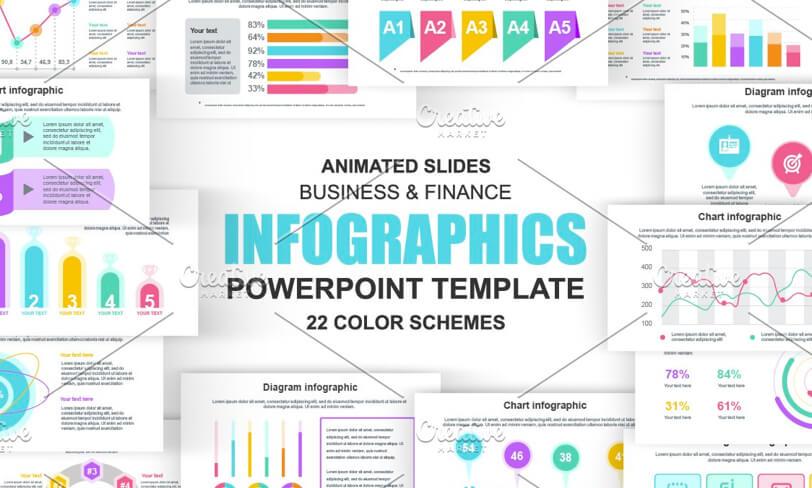 darmowe infografiki powerpoint
