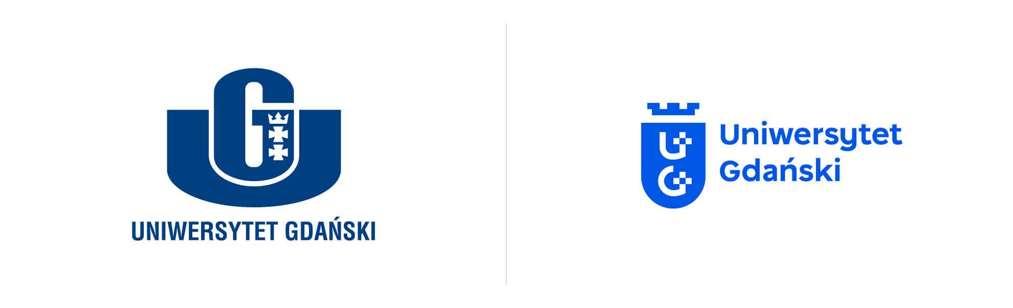 Stare inowe logo uniwersytetu gdańskiego