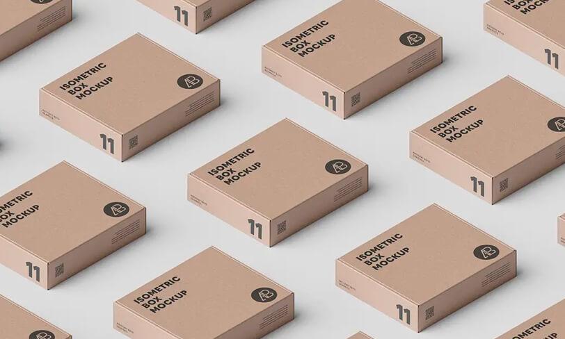 darmowy mockup kartonów