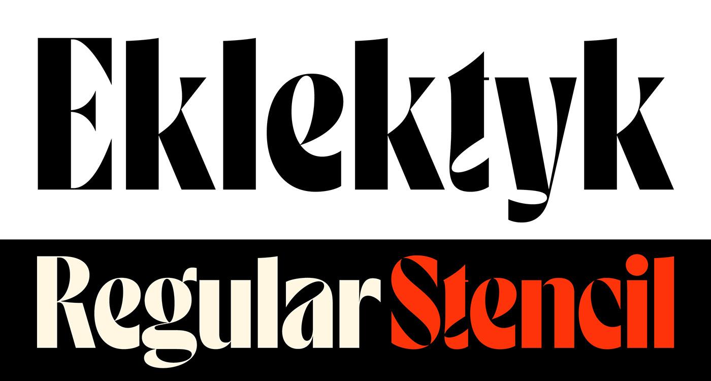 Maciej Połczyński (Laïc: Type Foundry)Eklektyk