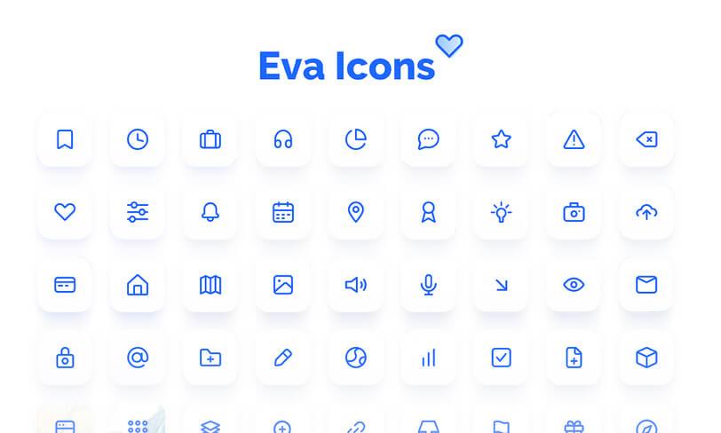 darmowy zestaw ikon sketch