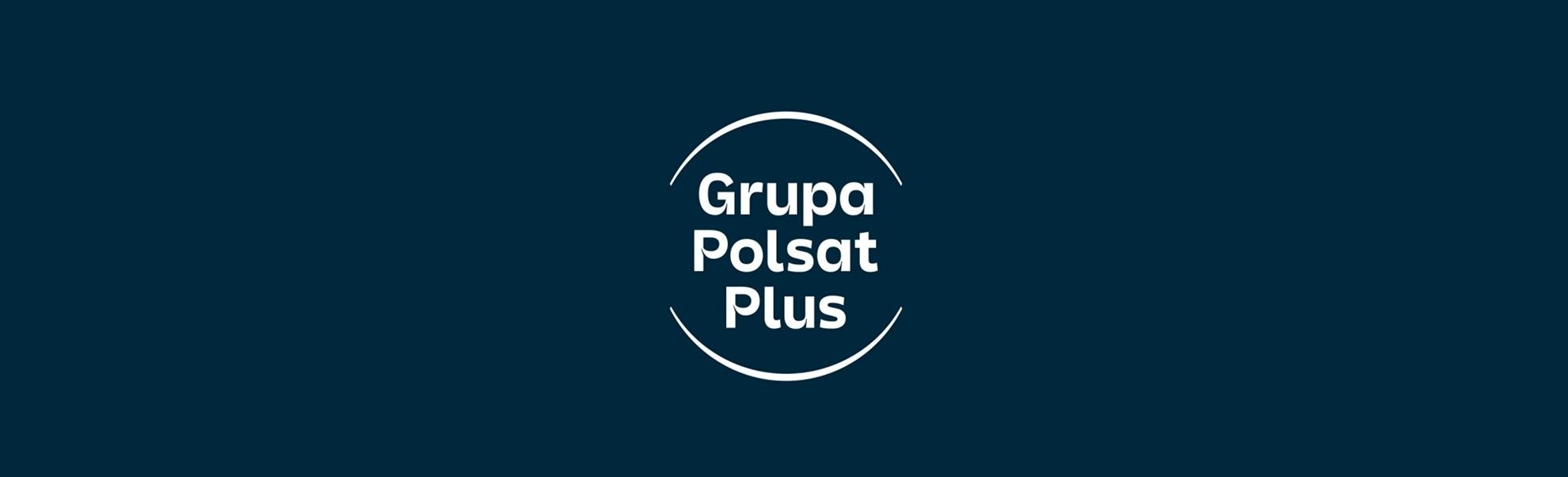 Logo nowej Grupy Polsat Plus