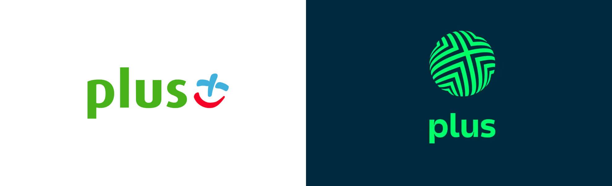 Stare inowe logo sieci Plus