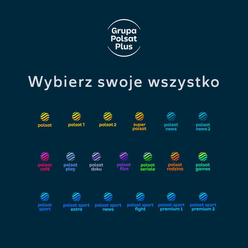 Nowe logo wszystkich stacji tematycznych Polsatu
