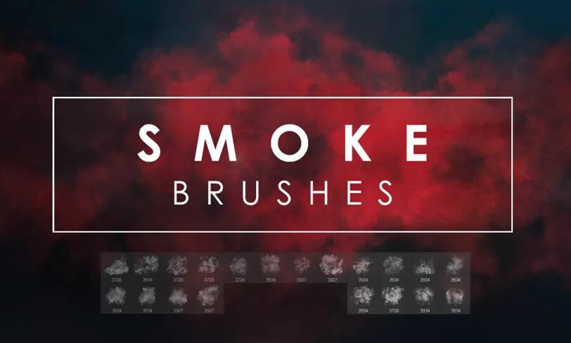 darmowe pędzle dophotoshopa dym