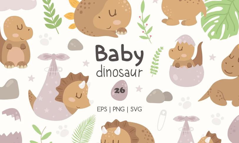 darmowe ilustracje dinozaur