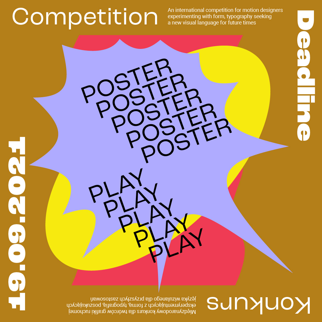 Konkurs Poster Play